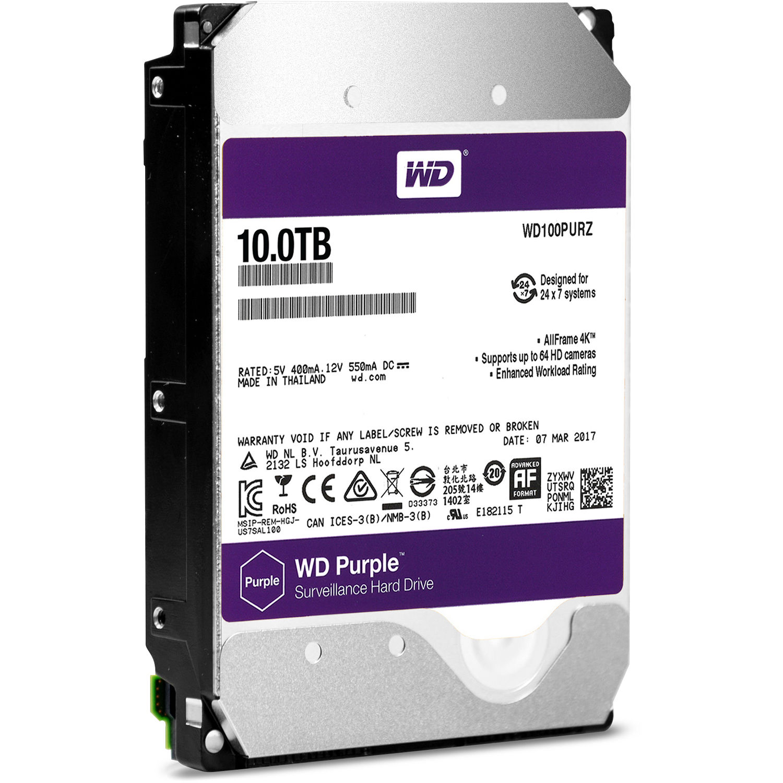 HDD  WD Purple 10TB  pro WD101PURP TÍM