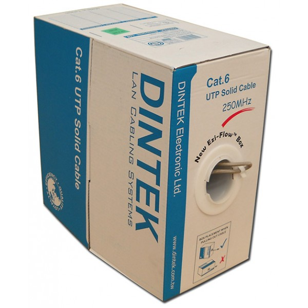 CAT.6 UTP, 4 pair, 23AWG, 305m/box - 1101-04004