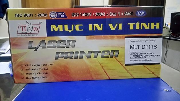 Mực in Samsung MLT-D111S (dùng cho máy M2010/ M2020FW/ M2070/ M2070FW)