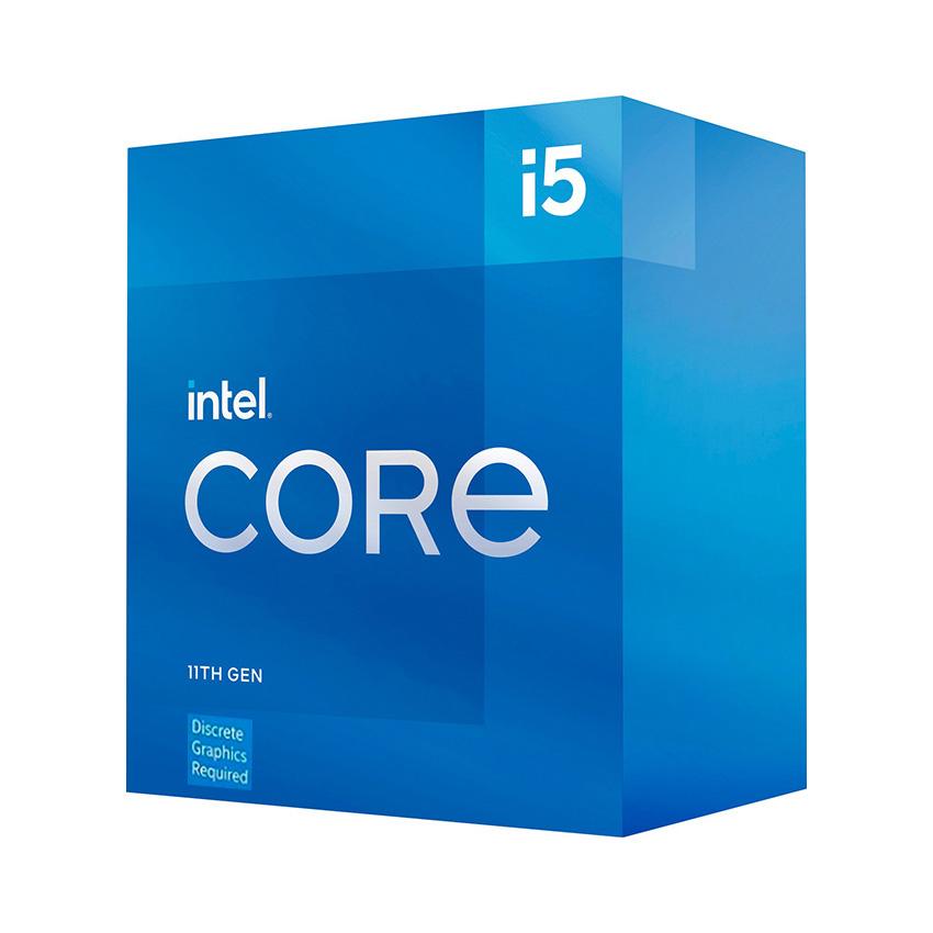 CPU Intel Core i5-11400F (2.6GHz turbo up to 4.4Ghz, 6 nhân 12 luồng, 12MB Cache, 65W) - Socket Intel LGA 1200