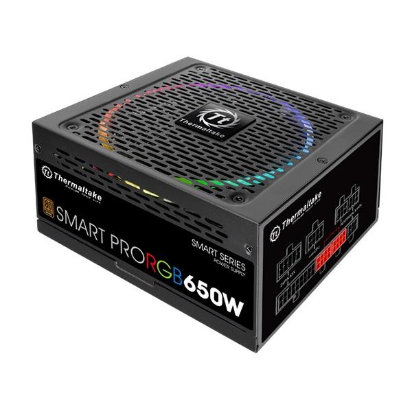 Nguồn THERMALTAKE Smart Pro RGB 650W Bronze (PS-SPR-0650FPCBEU-R)