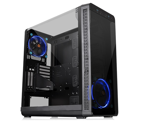 Thùng Case THERMALTAKE New Mid-Tower Chassis View 37 Riing Edition  (CA-1J7-00M1WN-00) Thermaltake