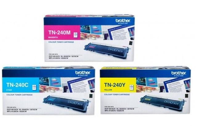 Mực in brother TN-240C/M/Y dùng cho HL-3040CN/3070CW/DCP-9010CN/ MFC-9120CN/9320CW