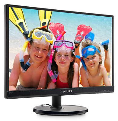 Màn hình máy tính Philips 223V5LSB LED 21.5 inch