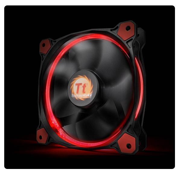 Fan THERMALTAKE RING 12 Red/Blue/Orange/Green/White/Yellow (CL-F038-PL12RE-A)