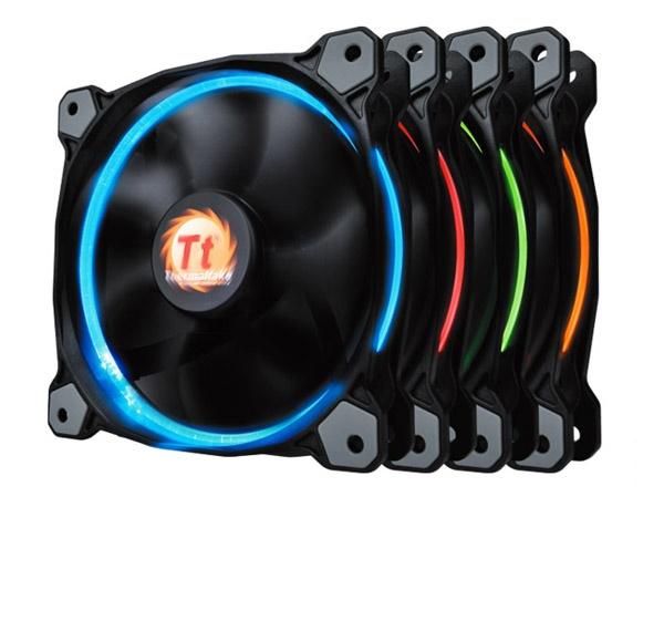 Fan case THERMALTAKE New Riing 12 LED Radiator Fan 256 Color/Fan/12025/1500rpm/LED Switch/MB Sync