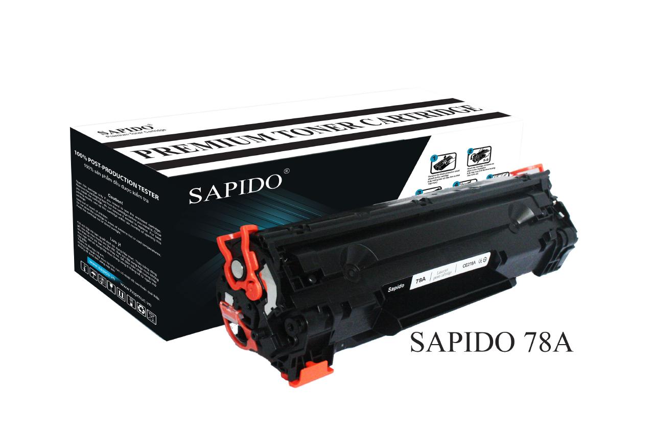 MỰC SAPIDO Model 78A   DÙNG CHO MÁY HP 1536dnf/ P1566/ P1530/ P1606 (2,100 trang)