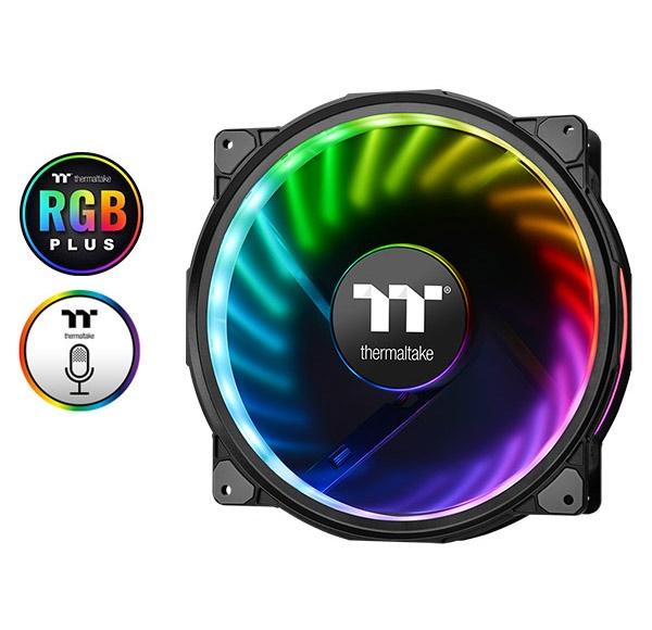 Fan case THERMALTAKE New Case Fan Riing Plus 20 LED RGB TT Premium Edition (Single Fan Pack w/o Controller)  CL-F070-PL20SW-A Thermaltake