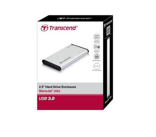 Hộp đựng ổ cứng Transcend 0GB StoreJet2.5