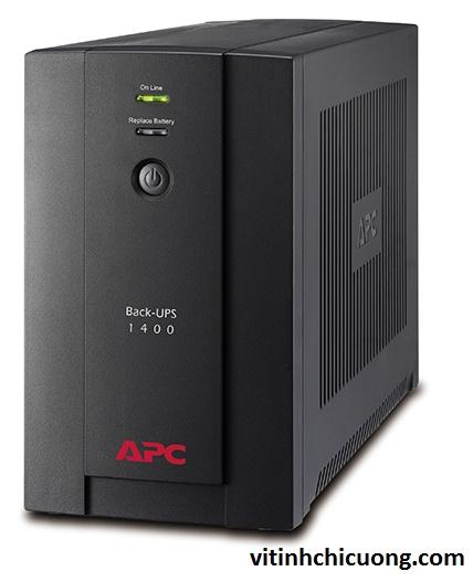 BỘ LƯU ĐIỆN APC Back-UPS 1400VA, 230V, AVR, Universal and IEC Sockets - BX1400U-MS - DÒNG APC BACK-UPS (CHO MÁY DESKTOP)