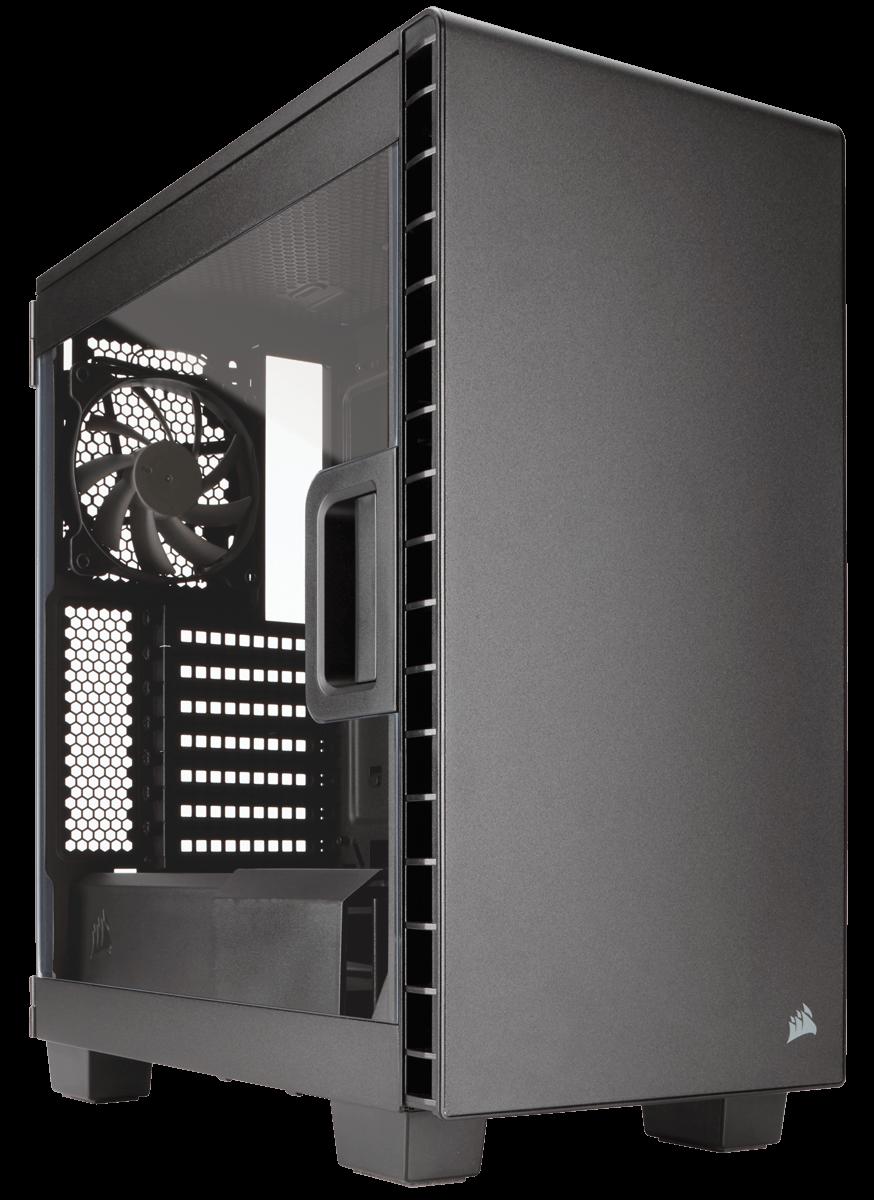 THÙNG CASE CORSAIR - 400C BLACK - CC-9011081-WW