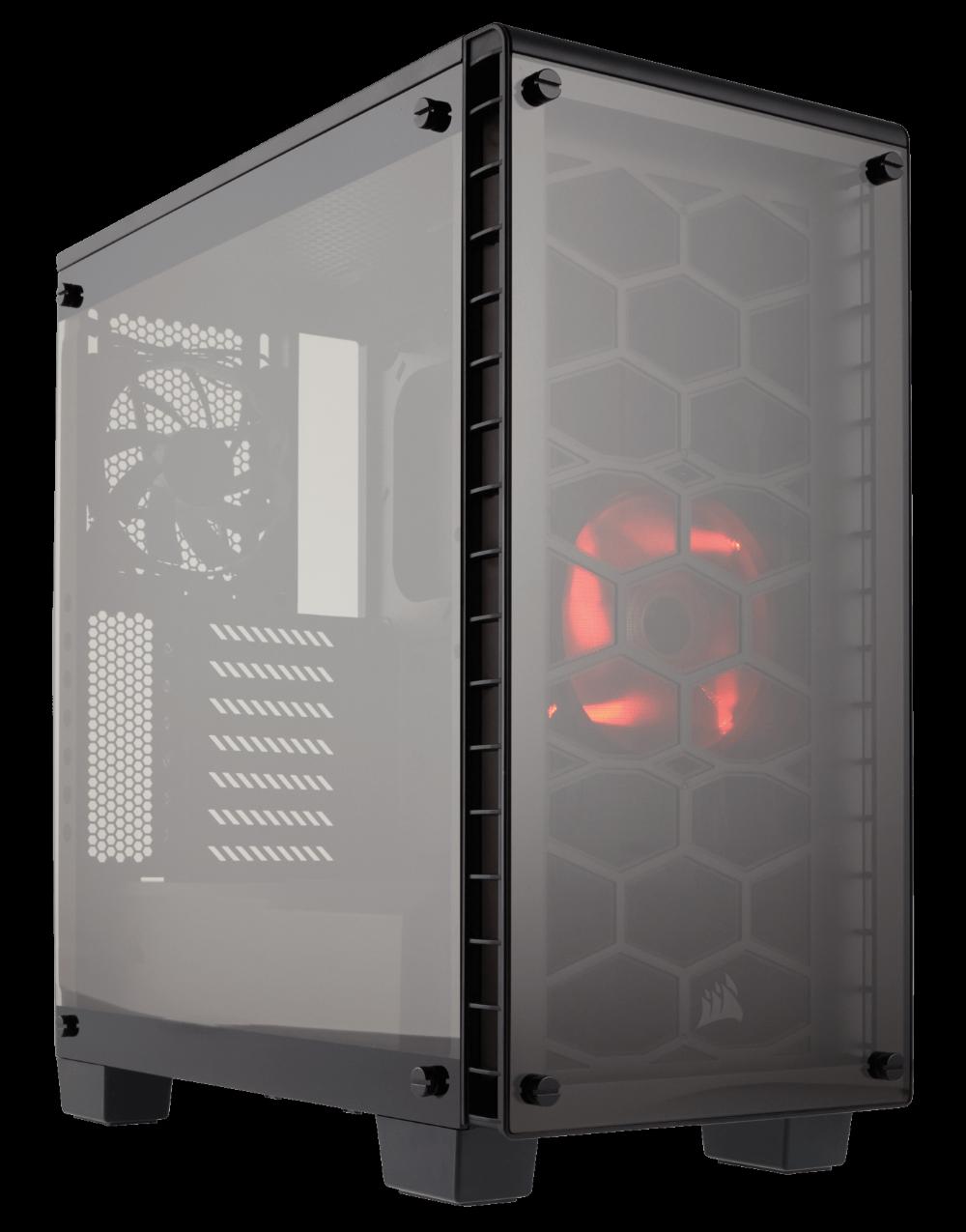 THÙNG CASE CORSAIR - Crystal Series 460X RGB -Tempered Glass- kính cường lực - CC-9011101-WW