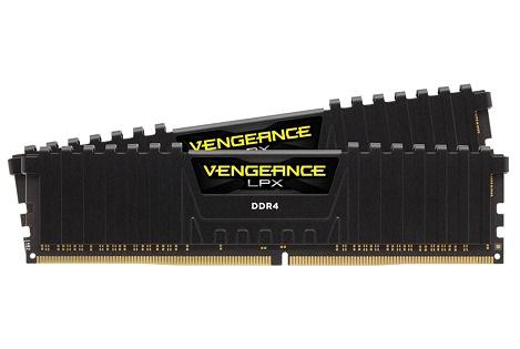 RAM CORSAIR PC DDR4 8GB Bus 2400 ( 4GB * 2 ) CMK8GX4M2A2400C14