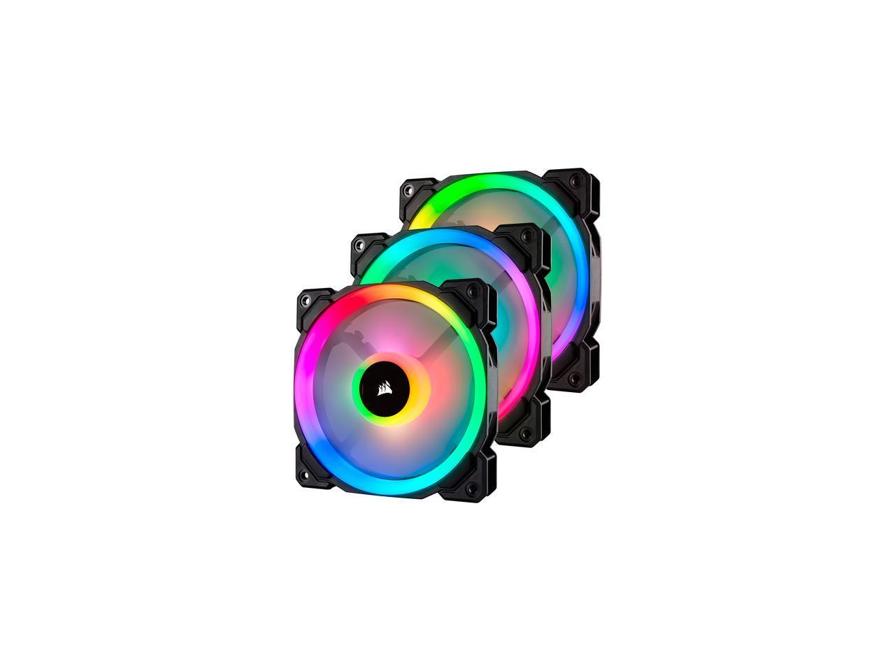 Fan Corsair LL120 RGB Triple Pack + Lighting - CO-9050072-WW