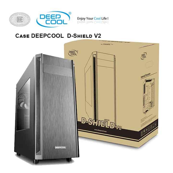 thùng máy tính deepcool D-Shield V2 Mid Tower