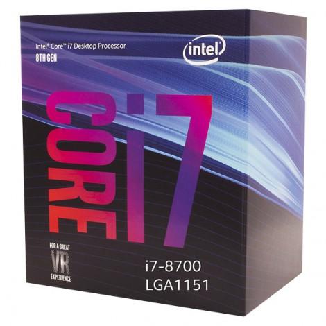 CPU Intel Core i7-9700K (3.6 Upto 4.6GHz/ 8C8T/ 12MB/ Coffee Lake-R)