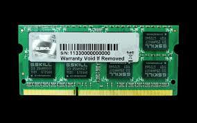 RAM Laptop 4GB G.SKILL F3-12800CL11S-4GBSQ