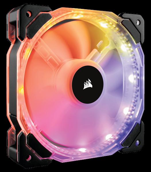 FAN CASE CORSAIR HD 120 RGB LED - Hộp 1 FAN - CO-9050065-WW