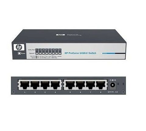 HP 1410-08 Switch J9661A - 10/100 UNMANAGED SWITCH