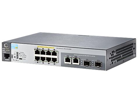 HP 2530-8-PoE+ Switch - J9780A