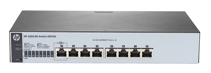 HP V1820-8G  Switch J9979A - Gigabit MANAGED SWITCH L2/L3