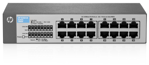 HP 1410-16 Switch J9662A - 10/100 UNMANAGED SWITCH