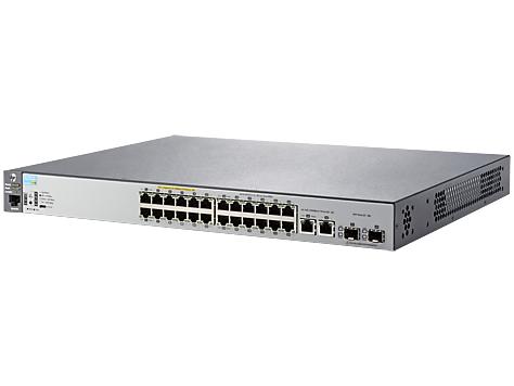 HP 2530-24-PoE+ Switch - J9779A