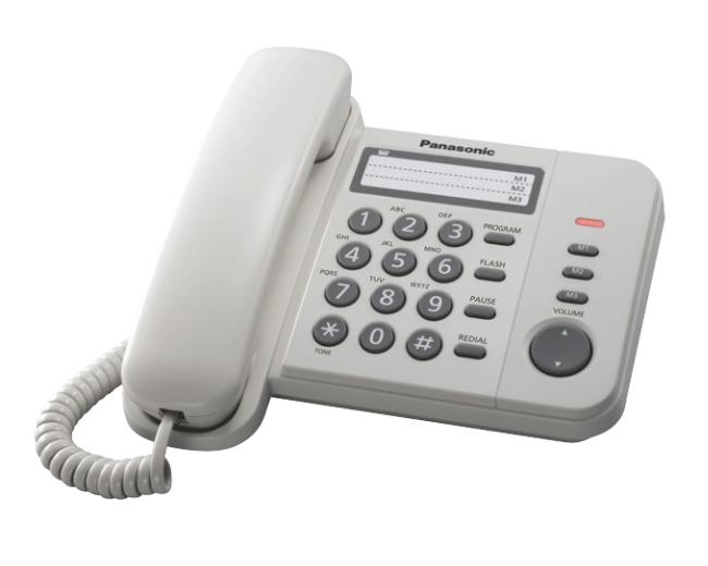 ĐIỆN THOẠI BÀN PANASONIC KX-TS 520 TRẮNG