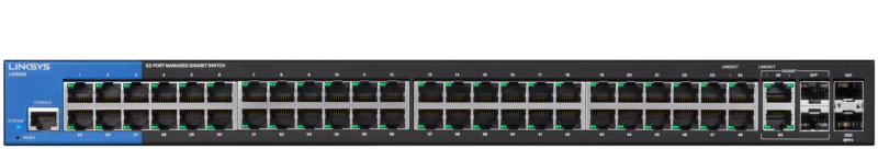 LINKSYS LGS528P - 28-Port PoE+ Managed Gigabit Switch