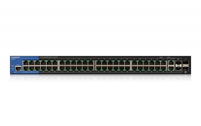 LINKSYS LGS552P - 52-Port PoE+ Managed Gigabit Switch