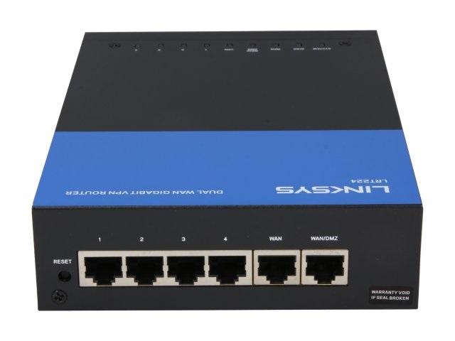 Dual Wan Gigabit VPN Router - LRT224