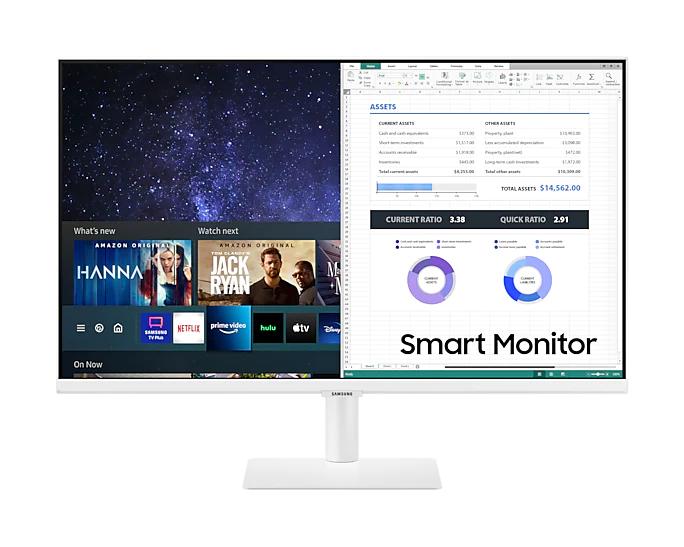 Màn hình Samsung LS27AM501NEXXV 27inch/ FHD/ VA/ 60Hz/ 8ms/ 250nits/ HDMI/ Tivi+Remote/ Trắng