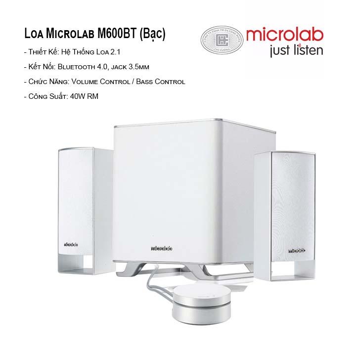 Loa Bluetooth Microlab M-600 BT New 2.1
