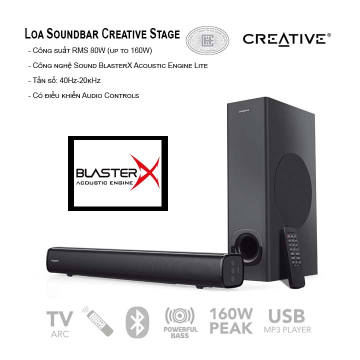 Loa Soundbar Creative Stage