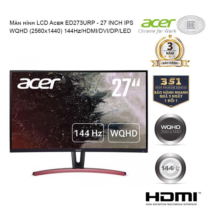 Màn hình Acer 27 inch ED273URP (2k/VA/144Hz/4ms)