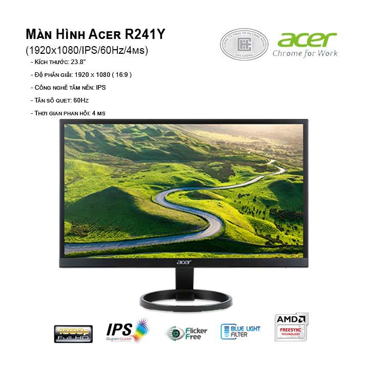 Màn hình Acer R241Y (1920x1080/IPS/60Hz/4ms)