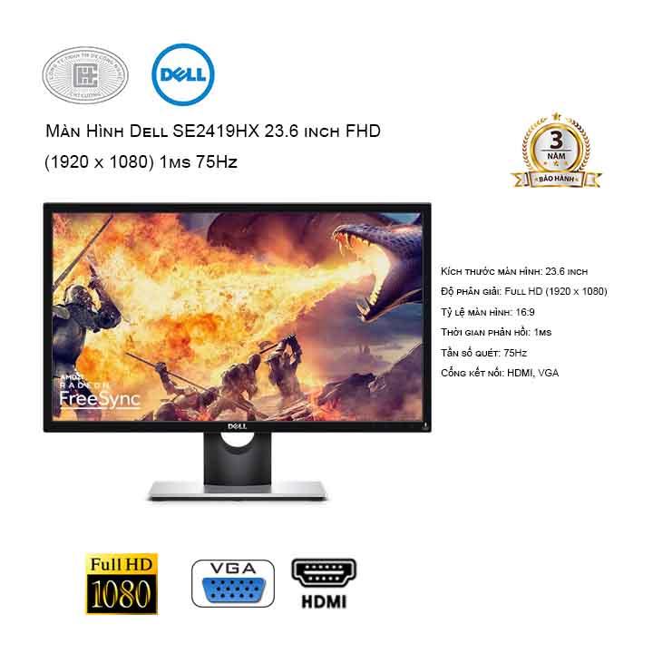 Màn hình Dell SE2417HGX 23.6 inch FHD Gaming