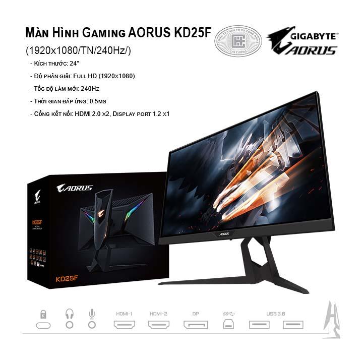 Màn Hình Gaming Gigabyte Aorus KD25F