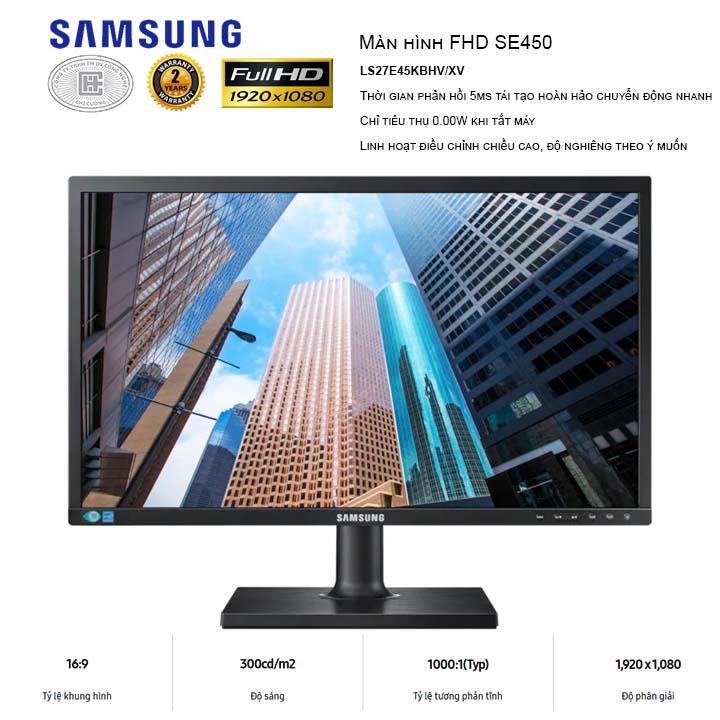 Màn Hình Samsung 27 inches LS27E45UFS/XV