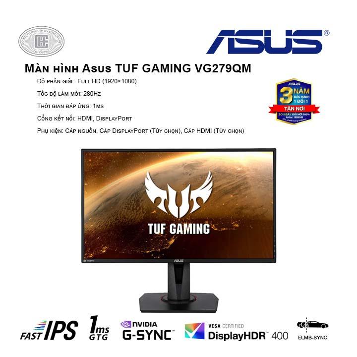 Màn hình Asus TUF GAMING VG279QM  27 inch VG279Q (FullHD/IPS/144Hz/1ms/FreeSync)