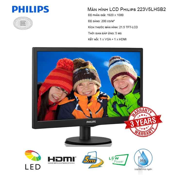 Màn hình LCD Philips 22