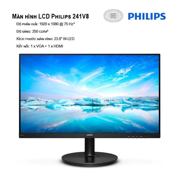 Màn hình Philips 241V8 Full HD
