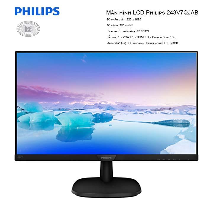 Màn hình LCD Philips 243V7QJAB