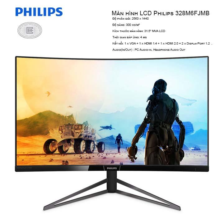Màn hình LCD Philips 328M6FJMB 32
