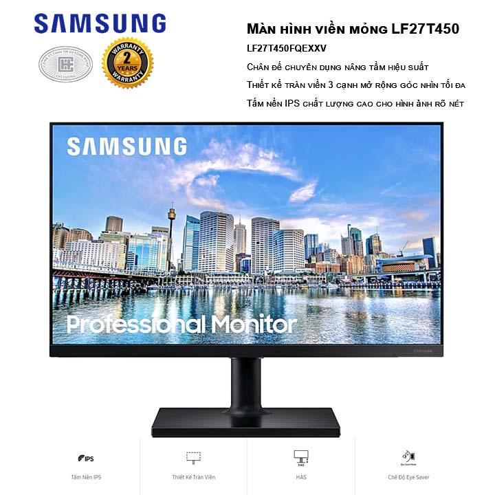 Màn hình Samsung LF27T450FQEXXV