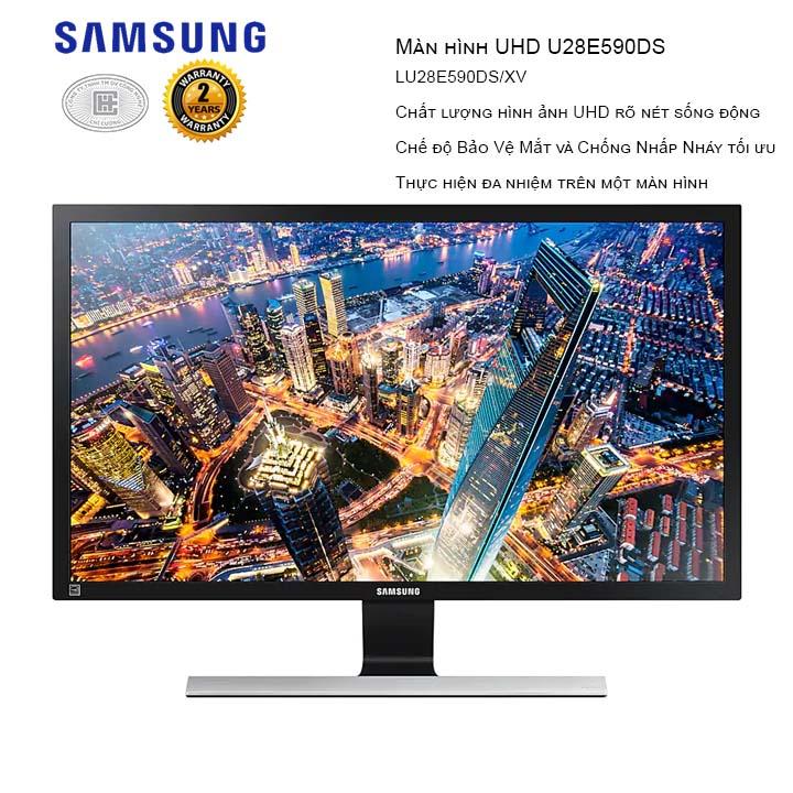 Màn Hình Samsung LU28E590DS/XV 28 inches (3840x2160/TN/60Hz/1ms/FreeSync)