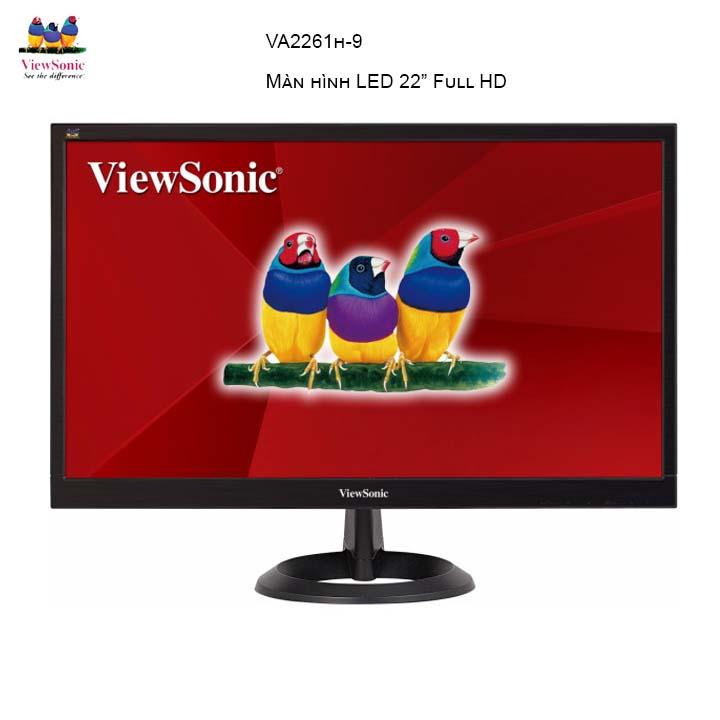 Màn Hình Viewsonic VA2261H-8  22Inch FullHD 5ms 75Hz TN