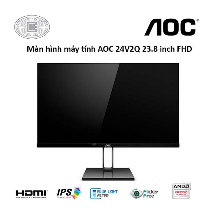 Màn hình AOC 24V2Q 23.8 inch FHD 75Hz