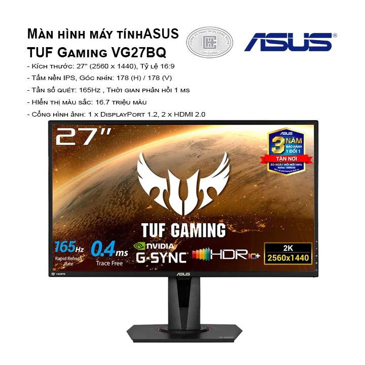 Màn hình Asus TUF Gaming VG27BQ