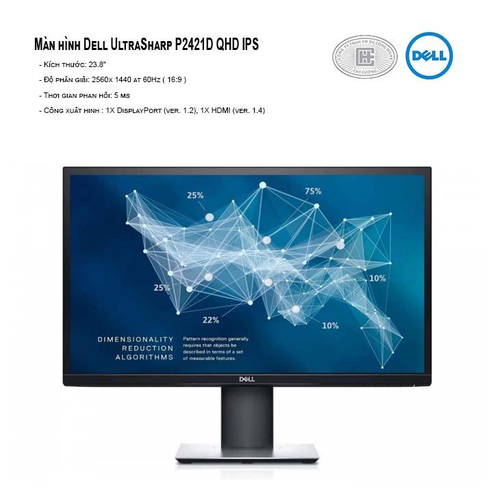Màn hình Dell P2421D QHD IPS